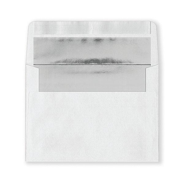 Fastick White Silver-Lined Envelopes