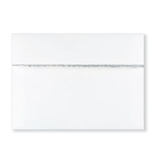 Fastick White Silver-Deckle Extra Envelopes