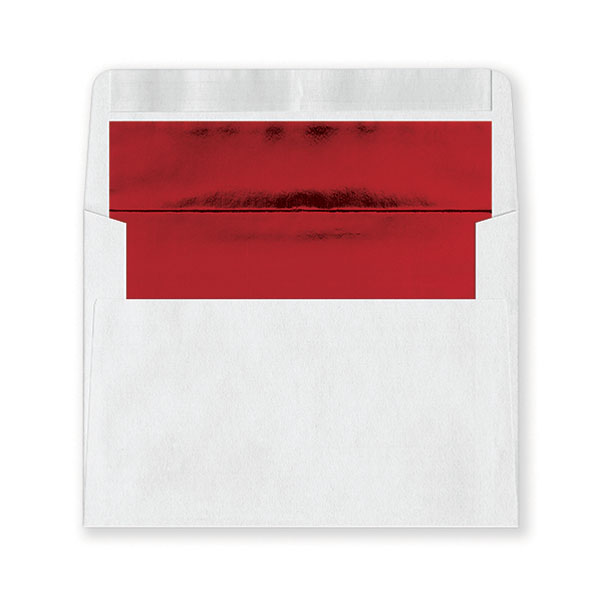 Fastick White Red-Lined Extra Envelopes