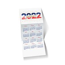 2022 Peace Calendar Holiday Card