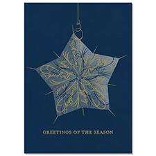 Word Star Holiday Card