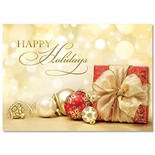 Gift and Ornaments Holiday Card