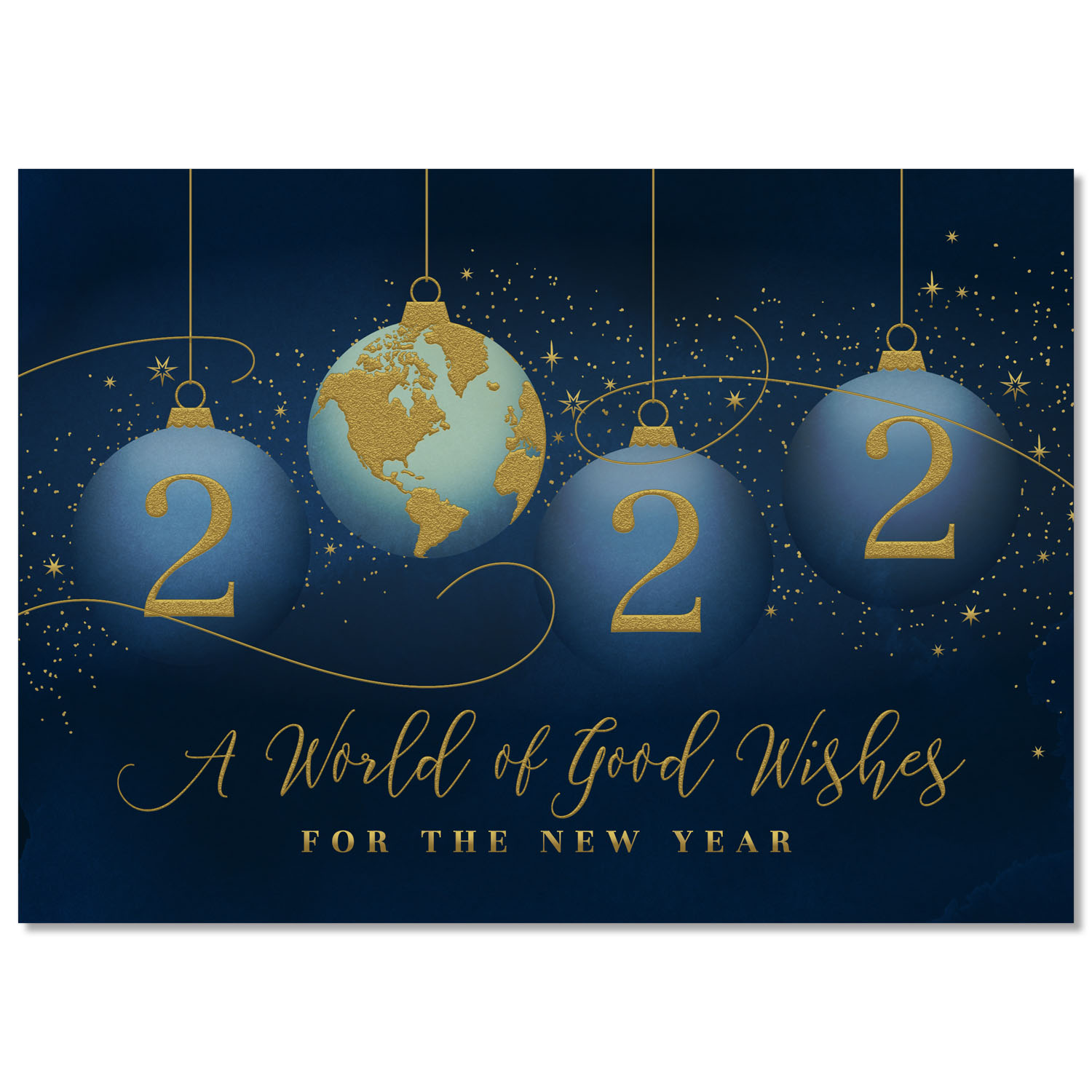 Year of Good Wishes 2022 Holiday Card