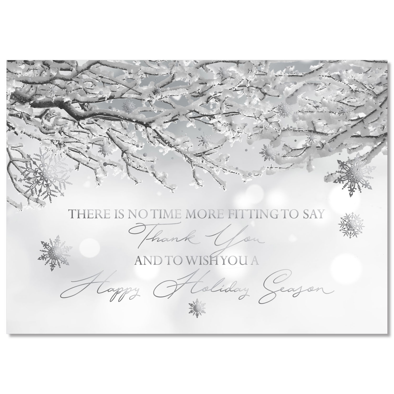 Picture of Frosted Branches Holiday Card