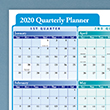 Picture of 36 x 24 Quarterly Wall Planner