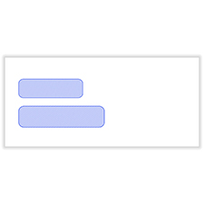 Picture of Double Window Statement or Billing Envelopes