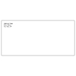 Picture of Imprinted Standard #10 Envelopes - No Window