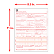Picture of CMS-1500 Forms - Laser - 100 Pack