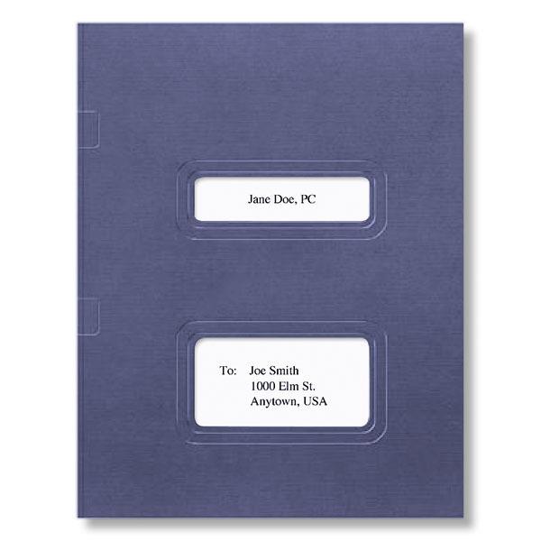 Stacked Window Folder (Dark Blue)