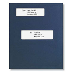Offset Window Folder (Dark Blue)