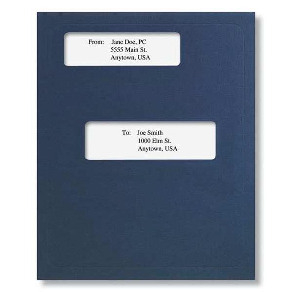 Offset Window Folder (Dark Blue)