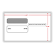 Picture of 3-UP 1099 Double Window Envelopes