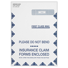 Picture of Imprinted CMS-1500 Forms - Catalog Envelope