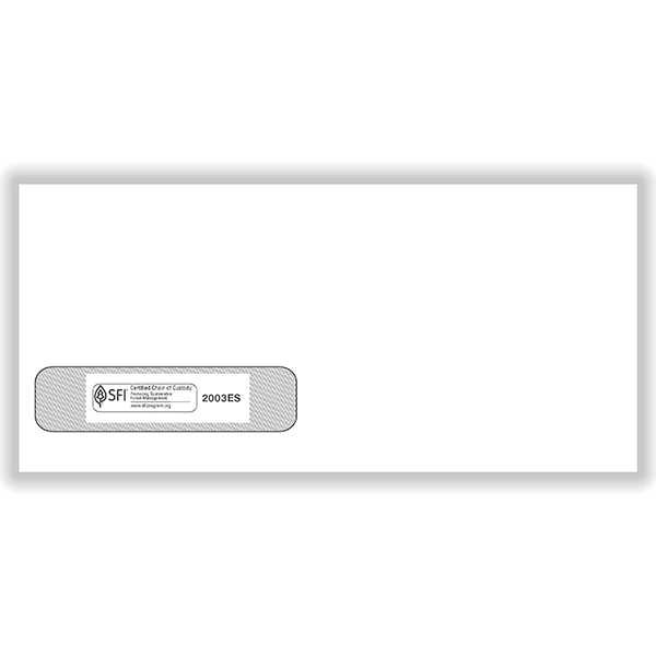 Picture of ADA Claim Forms Window Envelopes - #10