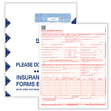 Picture of CMS-1500 Forms w/ Catalog Envelopes