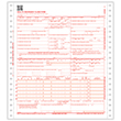 Picture of 1-Part Pinfeed CMS-1500 Forms