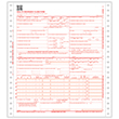 Picture of 2-Part Pinfeed CMS-1500 Forms