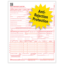 Picture of Imprinted CMS-1500 Forms - Laser - 100 Pack