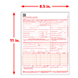 Picture of CMS-1500 Forms - Laser - 2500 Pack