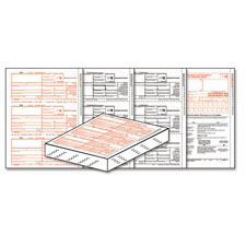 Picture of 1099-INT Forms Laser Set - 4-Part