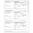 W-2 3-Up Preprinted Laser Horizontal Employee Copy B, 2, C (100 Pack)
