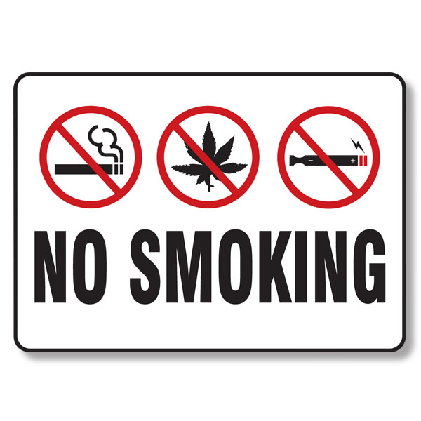 No Smoking Sign | HRdirect