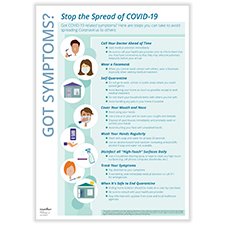 Picture of Downloadable Stop COVID-19 Transmission Poster