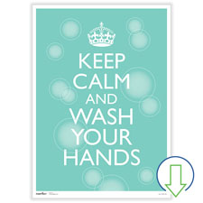 Downloadable Wash Your Hands Poster