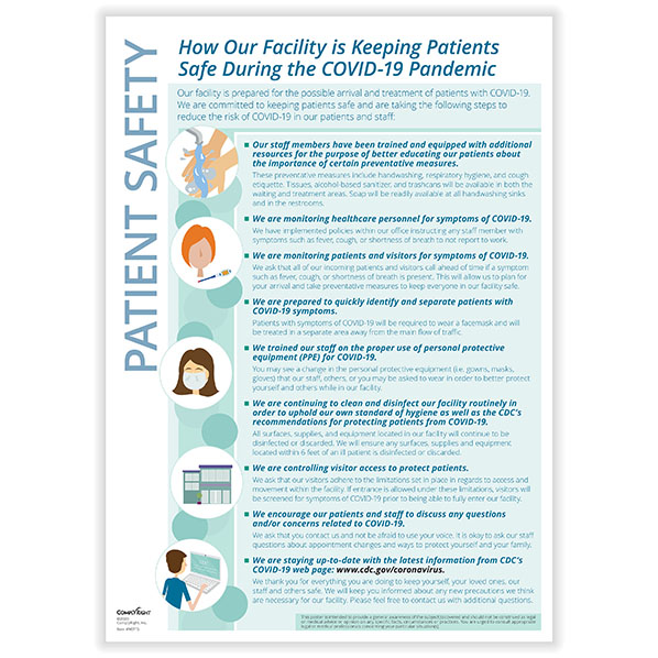 Keeping Patients Safe Poster