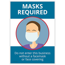 Masks Required Poster