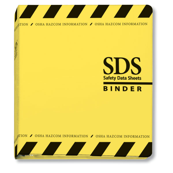 Safety Data Sheet Binder And Tabs GHS Safety