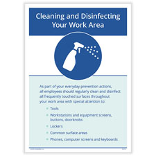 Disinfect office space