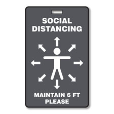 Social Distance Badges