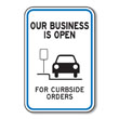 Curbside Order Signs