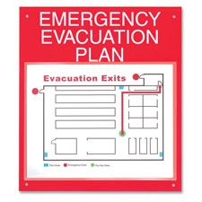 Emergency Evacuation Plan Board