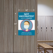 """Picture of """"No Vaccine"""" Mask Required Poster"""