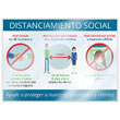 Picture of Social Distance Window Cling