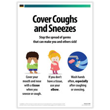 Cover Coughs & Sneezes Posters
