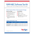 Picture of 1099-NEC Software Tax Kit – 4-Part