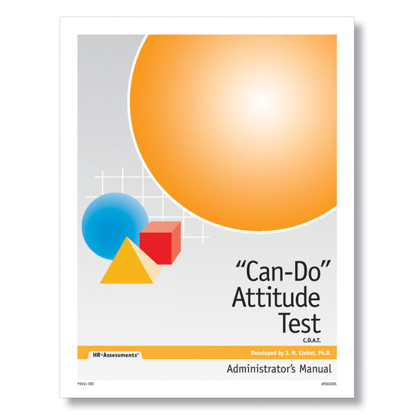 Can Do Attitude Online Test