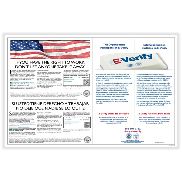 Picture of Poster Guard® E-Verify Poster Service