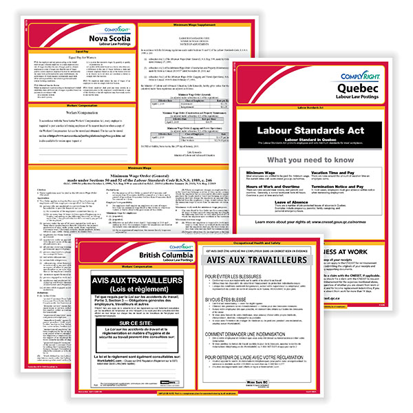 Picture of Poster Guard® Compliance Protection for Canadian Employers