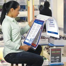 Picture of Poster Guard® Binder Service for Small Workspaces