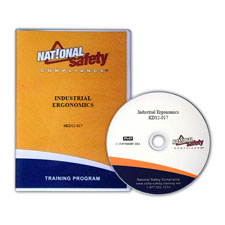 Industrial Ergonomics Training Video Kit English