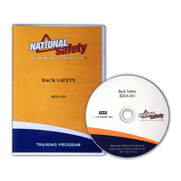 Back Safety Training Kit English