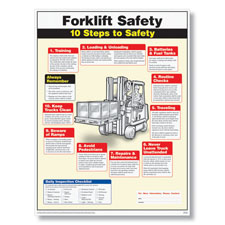 Forklift Safety Poster
