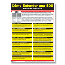SDS Training Poster - Spanish