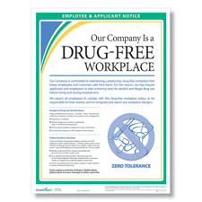 Picture of Drug-Free Workplace Poster