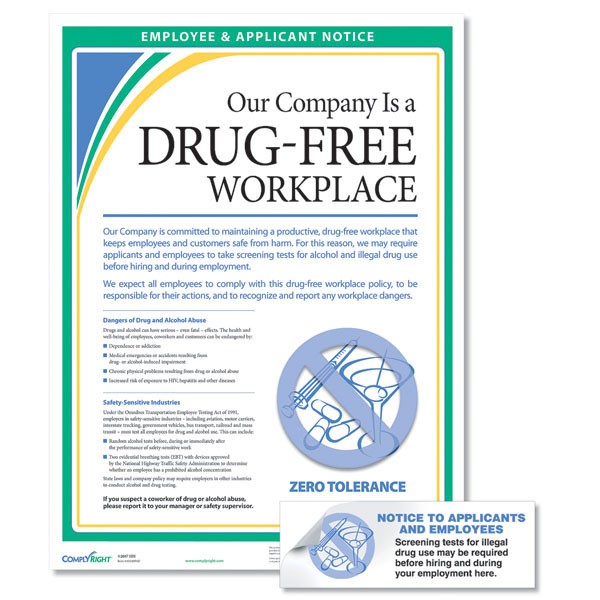 Drug-Free Workplace Kit