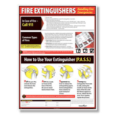 Picture of ComplyRight Lifesaving Fire Extinguisher Poster